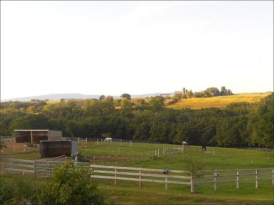 NW view of farm, fall II 2011