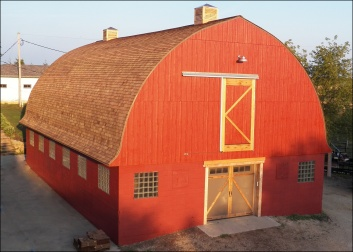 Sunset on the Red Barn.